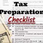 McKinley Jones & Associates's 2018 Tax Preparation Checklist